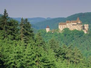 Pernstejn Fortress, 13th Century, South Moravia, Czech Republic, Europe by Upperhall Ltd