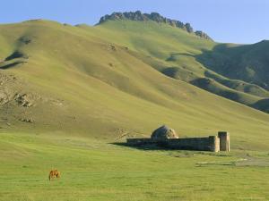 Tash Rabat Caravanserai, South of Naryn, Kyrgyzstan, Central Asia by Upperhall Ltd