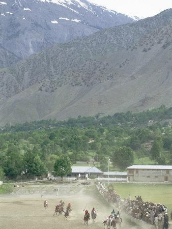 The Birthplace of Polo, Chitral, North West Frontier Province, Pakistan, Asia