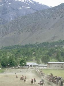 The Birthplace of Polo, Chitral, North West Frontier Province, Pakistan, Asia by Upperhall Ltd