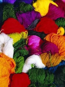 Traditional Indian Wool, Solola, Guatemala, Central America by Upperhall Ltd