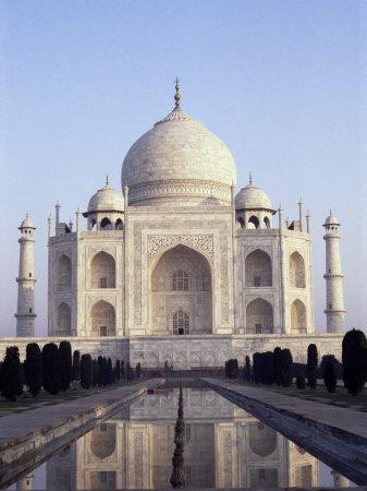 The Taj Mahal, Unesco World Heritage Site, Agra, Uttar Pradesh State, India