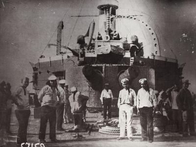 Uprising on the Battleship 'Potemkin, Constanta, Romania, 1905--Giclee Print