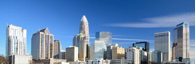 Uptown Charlotte, North Carolina Cityscape-SeanPavonePhoto-Photographic Print