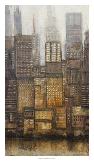 Uptown City II-Tim OToole-Art Print