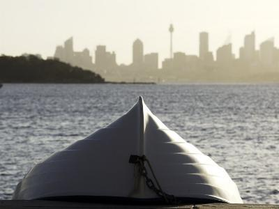 Upturned Dinghy, Watsons Bay-Oliver Strewe-Photographic Print