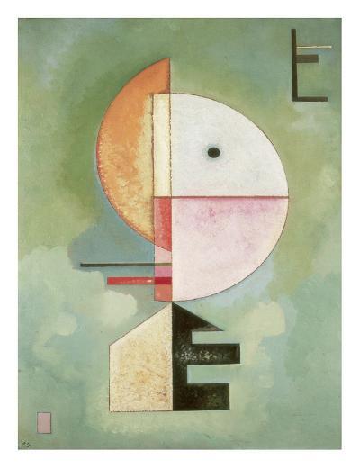 Upward-Wassily Kandinsky-Art Print
