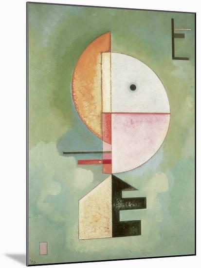 Upward-Wassily Kandinsky-Mounted Art Print