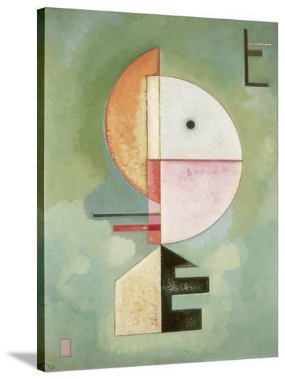 Upward-Wassily Kandinsky-Stretched Canvas Print
