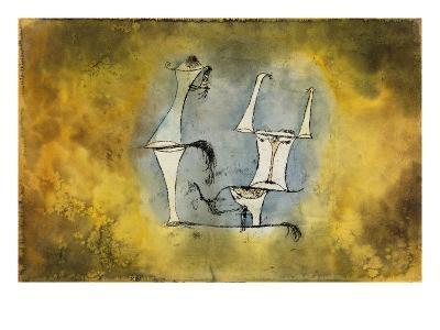 Ur-Welt-Paar, 1921 /135-Paul Klee-Giclee Print