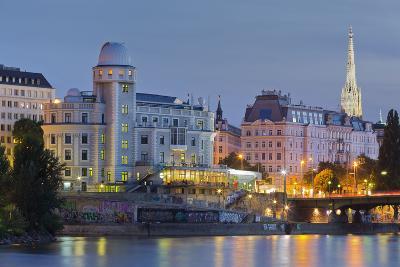 Urania, Stephansdom, Vienna River, 1st District, Internal Town, Vienna, Austria-Rainer Mirau-Photographic Print