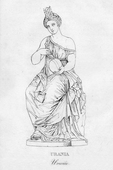 'Urania (Uranie)', c1850-Unknown-Giclee Print