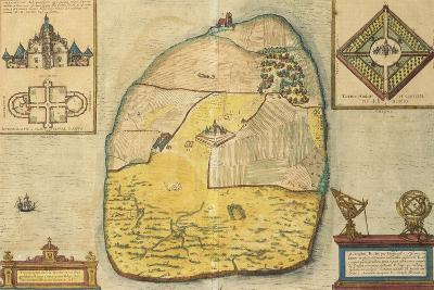 Uranienborg from Civitates Orbis Terrarum--Giclee Print