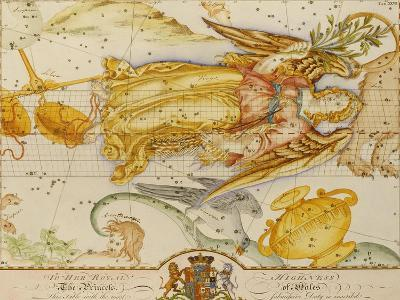 Uranographia, or the Celestial Atlas, circa 1800-John Bevis-Giclee Print