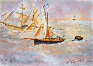 Marine IV by Urbain Huchet