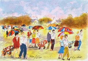 Parcours de Golf II by Urbain Huchet