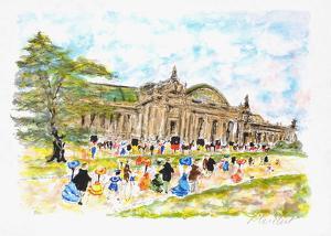 Paris, Le Grand Palais by Urbain Huchet