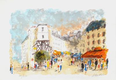 Paris, Montmartre La Rue Lepic