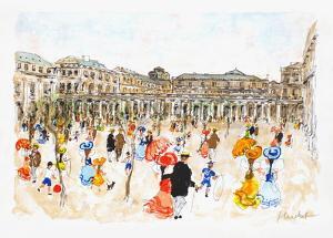 Paris, Palais-Royal by Urbain Huchet