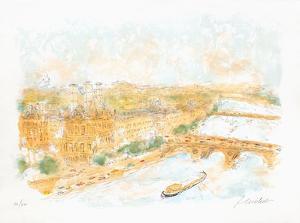 Perspective de Paris by Urbain Huchet