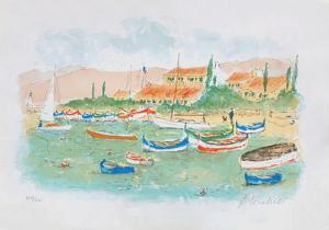 Saint Tropez, plage des Canebiers by Urbain Huchet