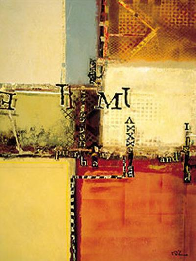 Urban Abstract I-Dechino-Art Print