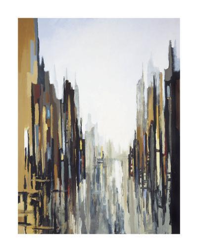Urban Abstract No. 141-Gregory Lang-Art Print