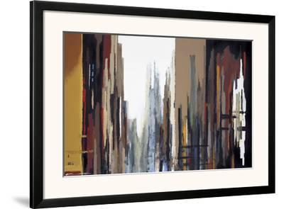 Urban Abstract No. 165-Gregory Lang-Framed Giclee Print