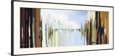 Urban Abstract No. 242-Gregory Lang-Framed Giclee Print