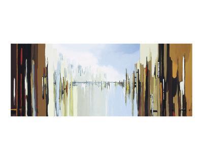 Urban Abstract No. 242-Gregory Lang-Art Print