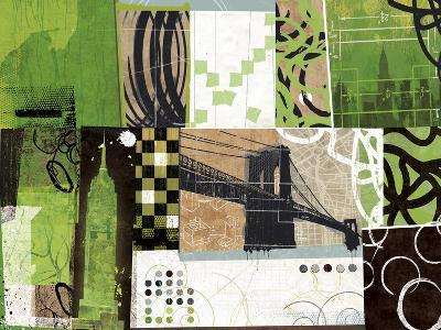 Urban Abstract-Philip Brown-Giclee Print