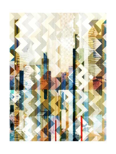 Urban Chevron I-Vision Studio-Art Print