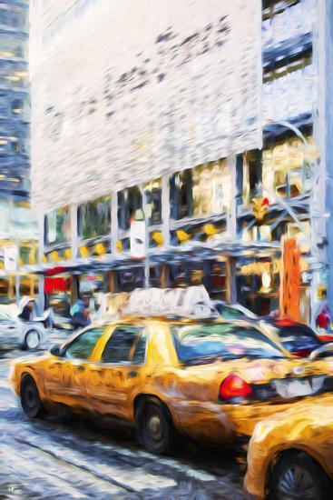 Urban City II - In the Style of Oil Painting-Philippe Hugonnard-Giclee Print