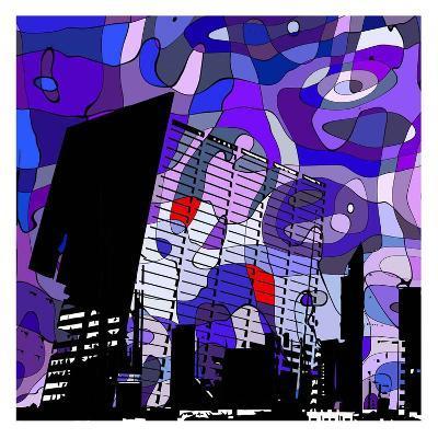 Urban Color II-Jean-Fran?ois Dupuis-Art Print
