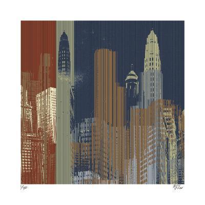 Urban Colors II-Mj Lew-Giclee Print