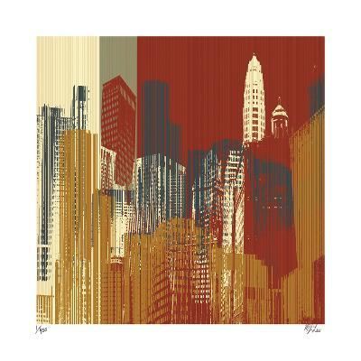 Urban Colors III-Mj Lew-Giclee Print