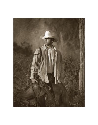 Urban Cowboy-Barry Hart-Art Print