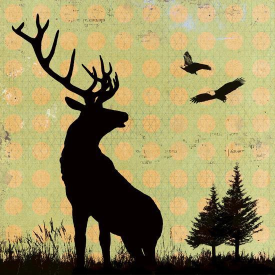 Urban Deer I-Hens Teeth-Giclee Print