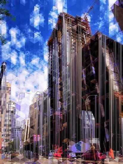 Urban Distortion V-Jean-Fran?ois Dupuis-Art Print