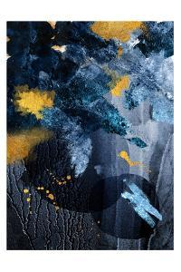 Abstract Blue and Gold by Urban Epiphany