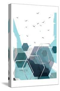 Abstract Teal 2 by Urban Epiphany
