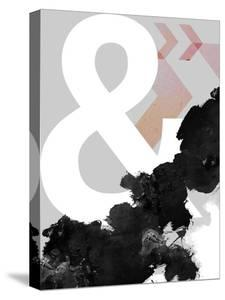 Ampersand Abstract Print by Urban Epiphany
