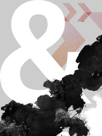 Ampersand Abstract Print
