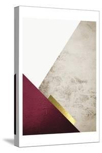 Beige Burgundy Mountains 3 by Urban Epiphany