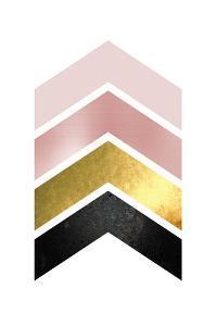 BlushPink Gold 1 by Urban Epiphany