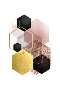BlushPink Gold 2 by Urban Epiphany