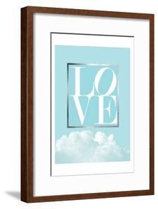 Love Joy Geo Turquoise 1 by Urban Epiphany