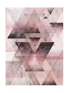 Pink Geometric by Urban Epiphany