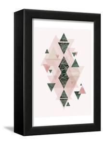 Pink Green Geometric 3 by Urban Epiphany