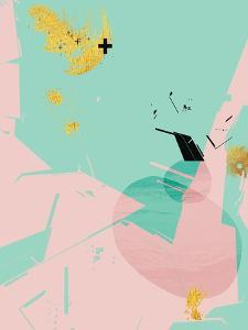 Scandi Abstract Mint Pink by Urban Epiphany